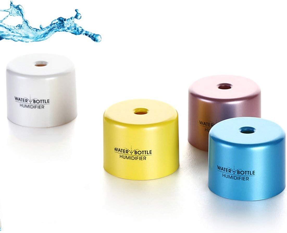 Rosa Nuovo umidificatore variopinto creativo della copertura della bottiglia di acqua della mini lampada di USB