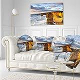 Designart PT6920-40-20 Twelve Apostles Australia Seascape Canvas Art Print, Blue, 40x20