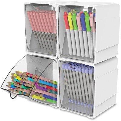 DEF421103 - Deflect-o Tilt Desktop Storage Bin ()