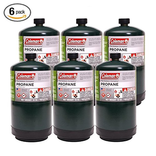- Coleman Propane Fuel Case of 6