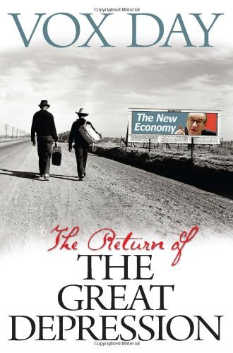 Ebook cover from The Return of the Great Depression by Vox Day (2009-10-29) by Vox Day