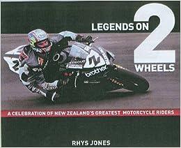 Book Legend on Two Wheels (Celebrity Portrait Series)