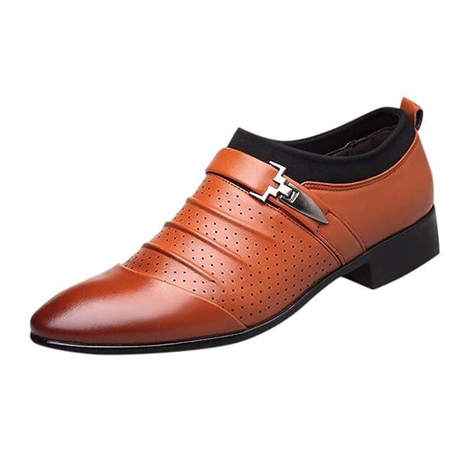 YEARNLY Herrenschuh spitze Schuhe, klassischer Business