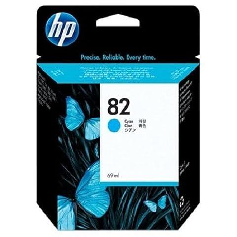 HP 82 69-ml Cyan DesignJet Ink Cartridge C4911A (Hp Cartridge 10)