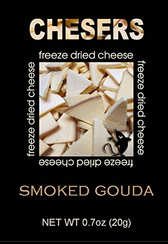 Chesers Freeze Dried Cheese (Smoked Gouda, 1) - Wine Smoked Gouda
