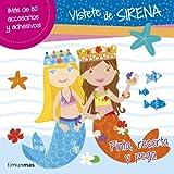 Vístete de sirena: Pinta, recorta y pega (Libros de actividades)