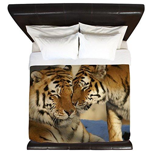 King Duvet Cover Nuzzling Tiger Love for cheap