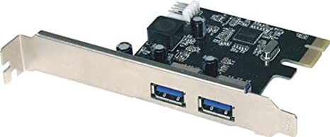 Approx APPPCI2P3V2 - Tarjeta USB 3.0 PCI Express Card, Color ...