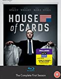 House of Cards - Season 1 (Blu-ray + UV Copy) [2013] [Region Free]