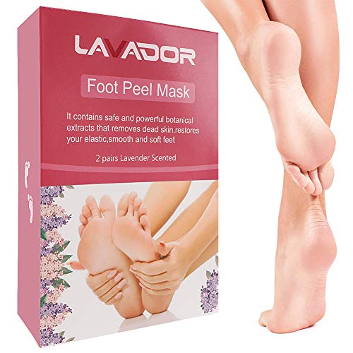 Foot Peel Mask, Peeling Off Calluses and Dead Skin,Get Soft Touch Smooth and Beautiful Feet, Exfoliating Foot Mask,Repair Rough Heels for Men and Women(2 Pack)