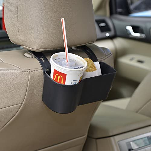 Car Seat Back Organizer Cup Holder Chair Dining Lunch Table Travel Trip Car Desk