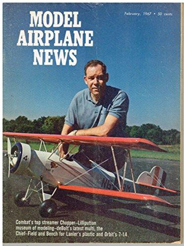 (Model Airplane News Magazine (February 1967) Super Twister / Bolkow Phoebus / deBolt)