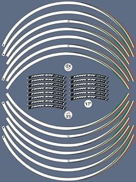 STRISCE ADESIVE compatibili per MOTO YAMAHA TRACER 900 adesivi CERCHI 17 tuning