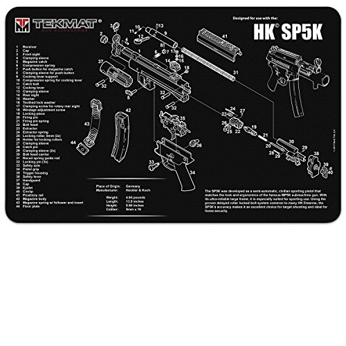 TekMat Heckler & Koch SP5K Gun Cleaning Mat / 11