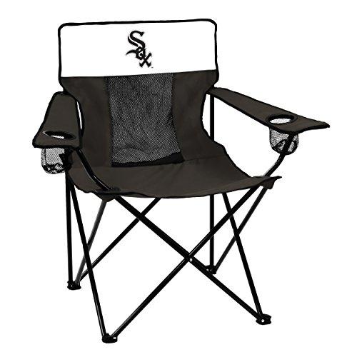 Logo MLB Chicago White Sox Elite Chair, Adult, Black