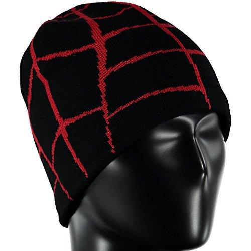 (Spyder Boys Mini Web Hat, Black/Formula, One Size)