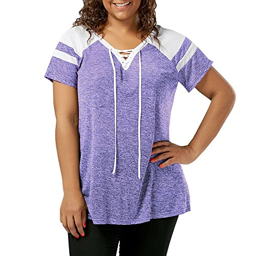 Handyulong Women Shirts Plus Size Clearance Sale Casual