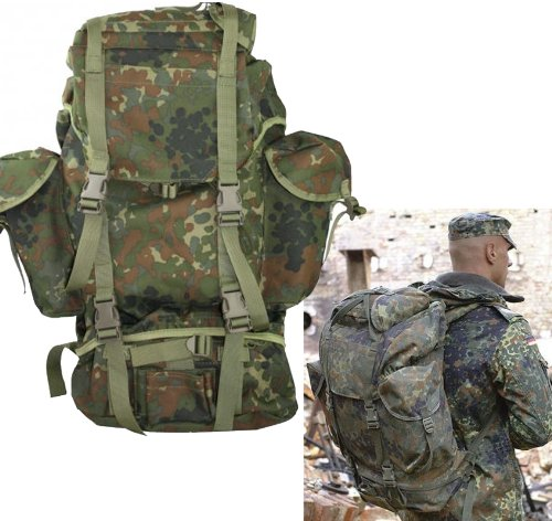 Amazon.com : German Flecktarn Military Outdoor Professional Field ...