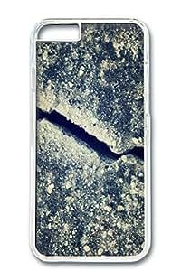 Custom Design Covers for iPhone 6 PC Transparent Case - Crack