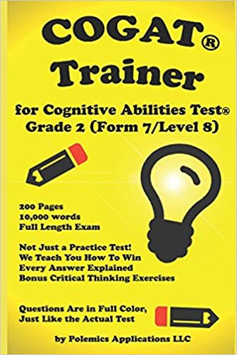 Amazoncom The Cognitive Ability Trainer Practice Test And