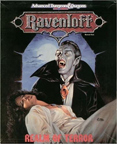 Ravenloft: Realm of Terror (AD&D 2nd Ed (144 Page Book / 4