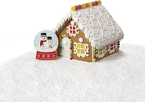 Gingerbread Cakes (Wilton Giant Snow Globe Icing Decorations, 13-Count)