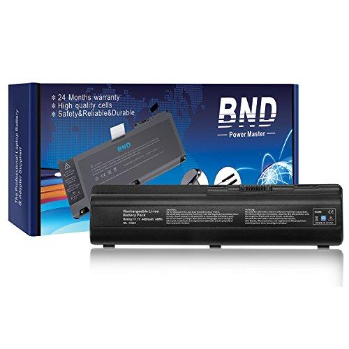 BND Laptop Battery for HP Pavilion DV4-1000 DV4-2000 DV5-1000 DV6-1000 DV6-2000 CQ50 CQ60 CQ70 G50 G60 G60-549DX G60T G61 G70 G71 Series, Fits P/N 484170-001 EV06 KS524AA KS526AA HSTNN-IB72