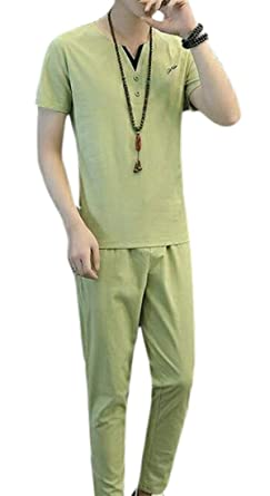 BingSai - Chándal - para Hombre Verde Verde M: Amazon.es: Ropa y ...