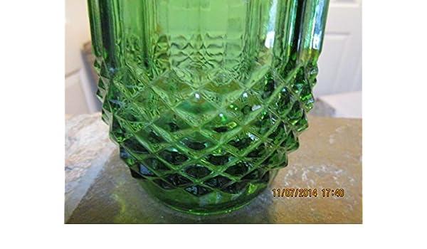 Amazon Hoosier Vintage Glass Vase Home Kitchen