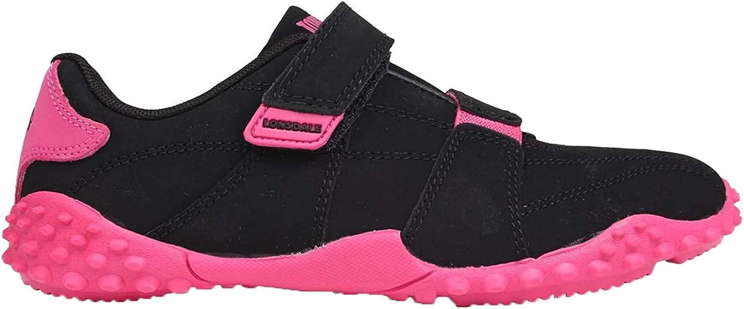 Lonsdale Fulham - Zapatillas con velcro para niños