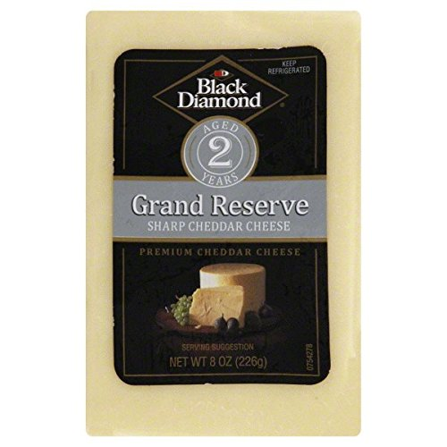 BLACK DIAMOND Cheese White Cheddar Aged 2 Years, 10 Pound (Pack of 1)