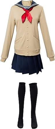 Noveltyboy Boku No Hero Academia My Hero Academia Himiko Toga Cosplay Costume Cross My Body Outfit Clothing Amazon Com