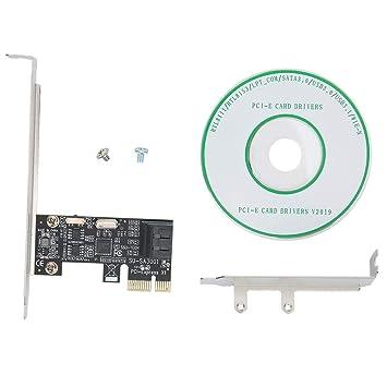 Wendry Tarjeta de expansión PCI-E, PCI-E a SATA3.0 AHCI IDE ...
