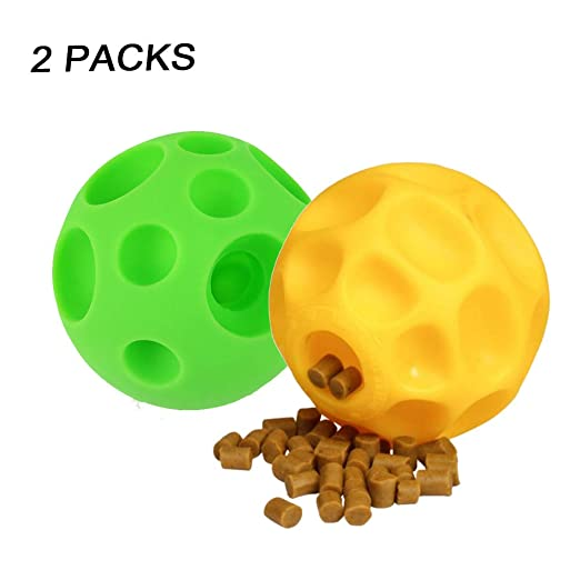 Pelota de silicona para alimentos para perros, IQ Training / Suave ...