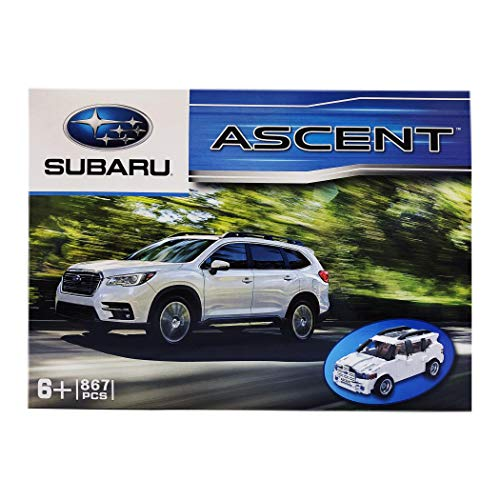 Subaru 2018 2019 Ascent 867 Pieces Model Build in Box Nib Genuine Brick Toy Car Set Kit