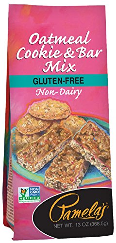 Gluten Free Oatmeal Cookies - Pamela's Products Gluten Free Cookie Mix, Oatmeal, 13 Ounce