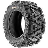 SunF 25x10-11 25x10x11 ATV UTV Tires 6 PR Tubeless