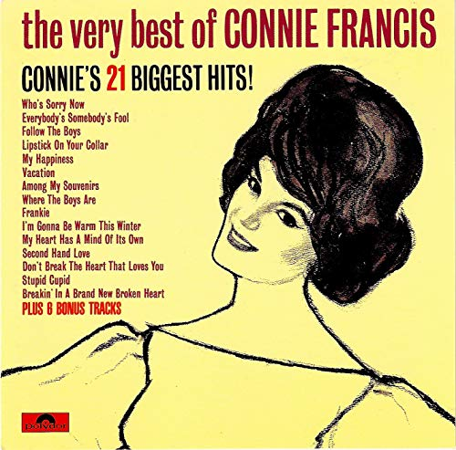 The Very Best Of (CD) (The Very Best Of Connie Francis Cd)