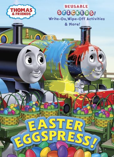 Easter Eggspress! (Thomas & Friends) (Color Plus Gatefold Sticker)