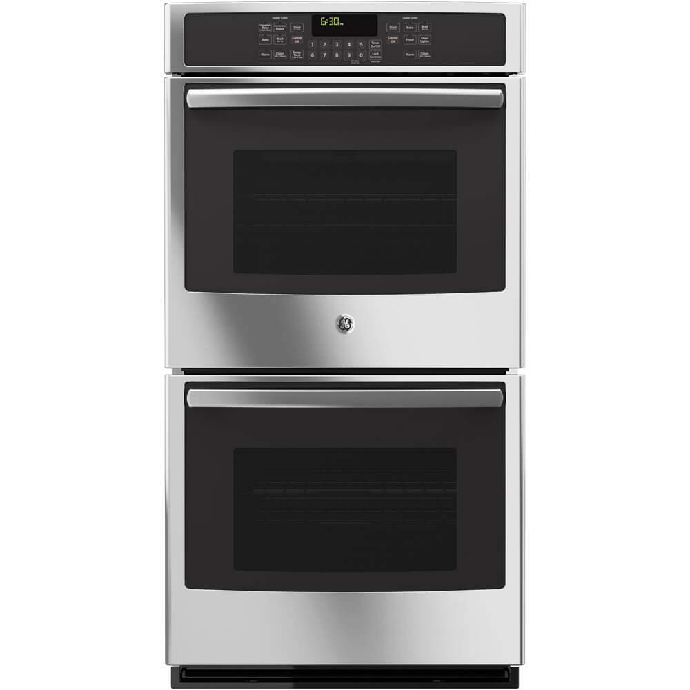 GE JK5500SFSS 27' Built-In Double Convection Wall Oven In Stainless Steel (Certified Refurbished)