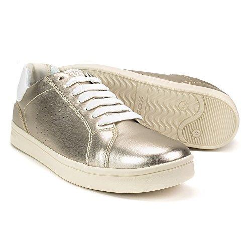 A Fille J Geox Gold Djrock Basses Sneakers qExAZ