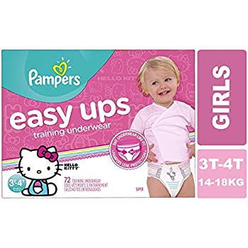 480e0c7f290e Pampers Easy Ups Pull On Disposable Training Diaper for Girls