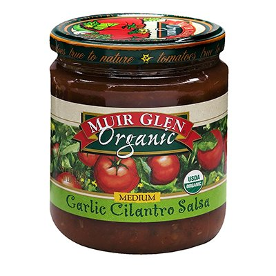 Amazon.com: Muir Glen Garlc Cilantro Med Salsa 16 Oz (Pack of 6) - Pack Of 6