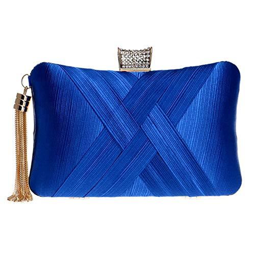 mode Handbag 3 bleu Zanpa embrayages femmes 85nw15Hq7