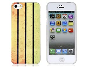 Raindrop 2-Color Plastic Case for iPhone 5