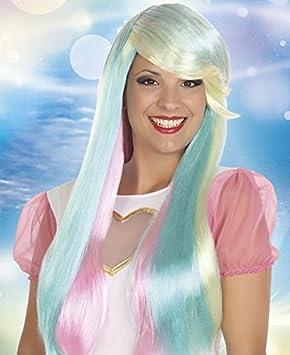 Atosa C/p. peluca larga fantasia