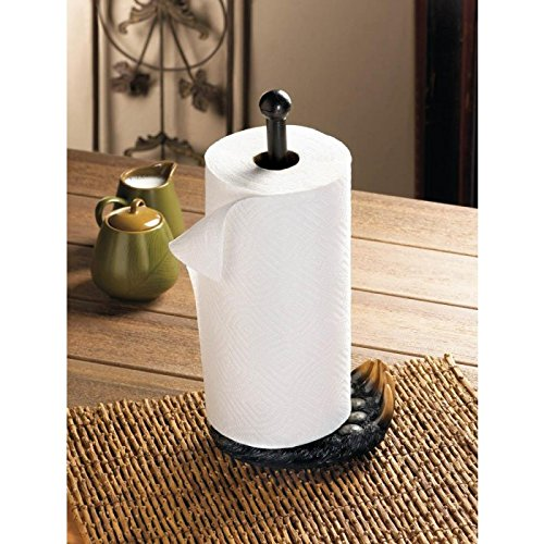 Smart Living Company 10017740 BLACK BEAR PAW PAPER TOWEL HOLDER 725quot x 525quot x 156quot