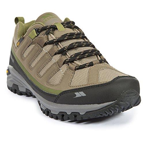 Trespass Carnegie Mujeres Zapatillas Para Caminar Impermeable Senderismo Low Cut Botas Brindle
