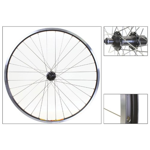 Rear Bike Cassette (Weinmann/Shimano ZAC19 Rear Wheel 26