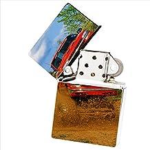 Red Chevy 4x4 Mud Flip Top Cigarette Lighter